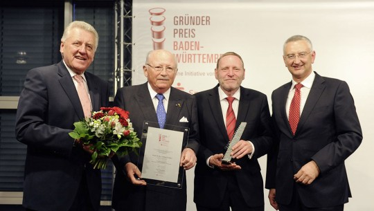 Gründerpreis award in recognition of a life's work