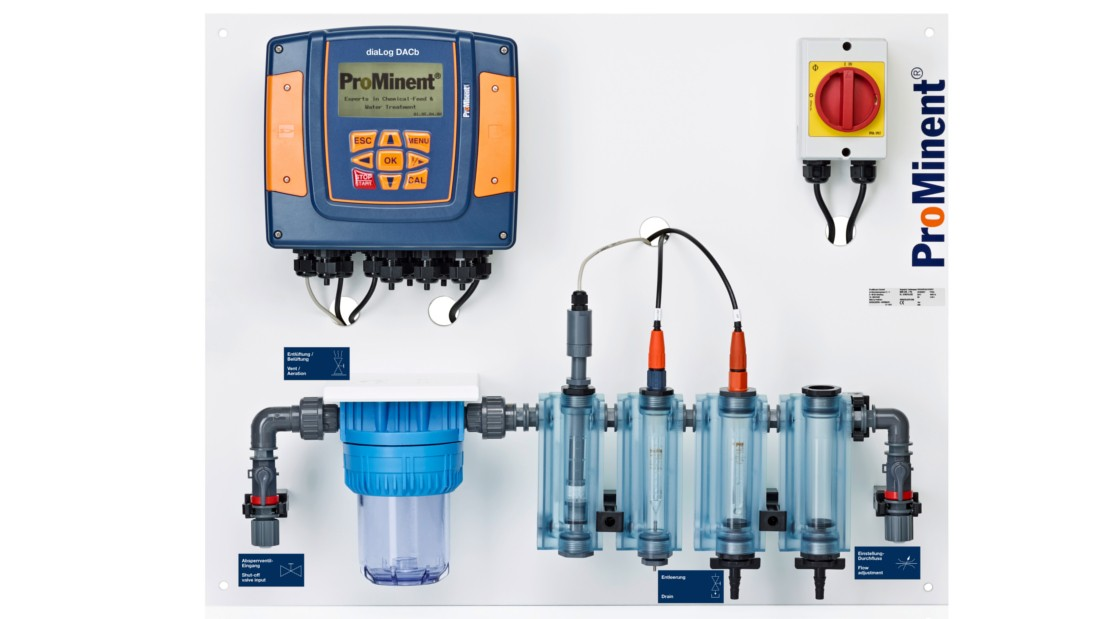 Measuring and control systems for potable water and waste water treatment
