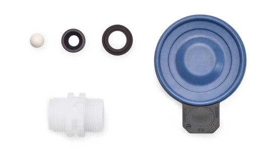 Spare Parts Kits and Spare Diaphragms for Solenoid-Driven Metering Pump gamma/ XL